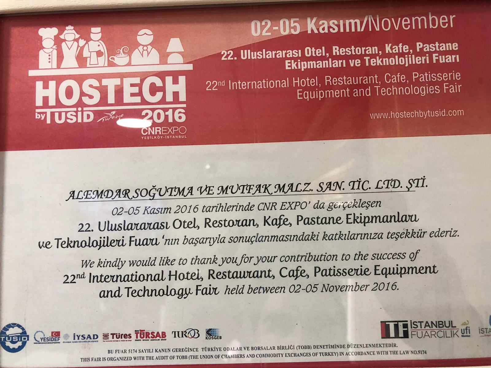 HOSTECH BY TUSİD İSTANBUL 2016