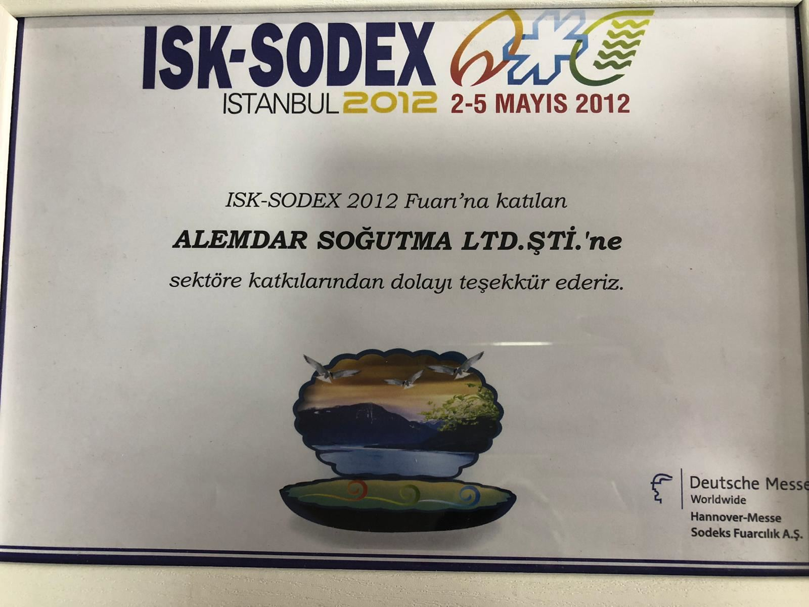 ISK-SODEX İSTANBUL 2012